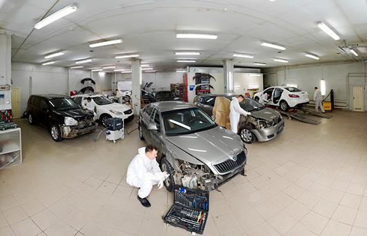 Цех кузовного ремонта автомобилей в Уфе