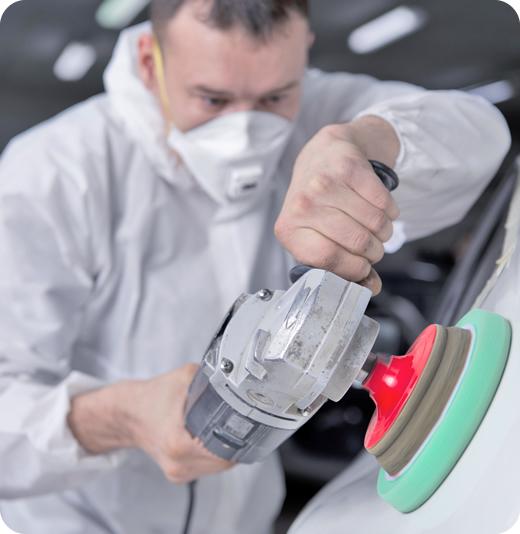 Шлифование кузова автомобиля